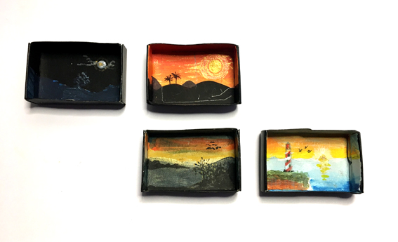 Matchbox landscapes